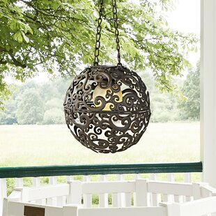 Fairfield 1 Light Outdoor Pendant By World Menagerie