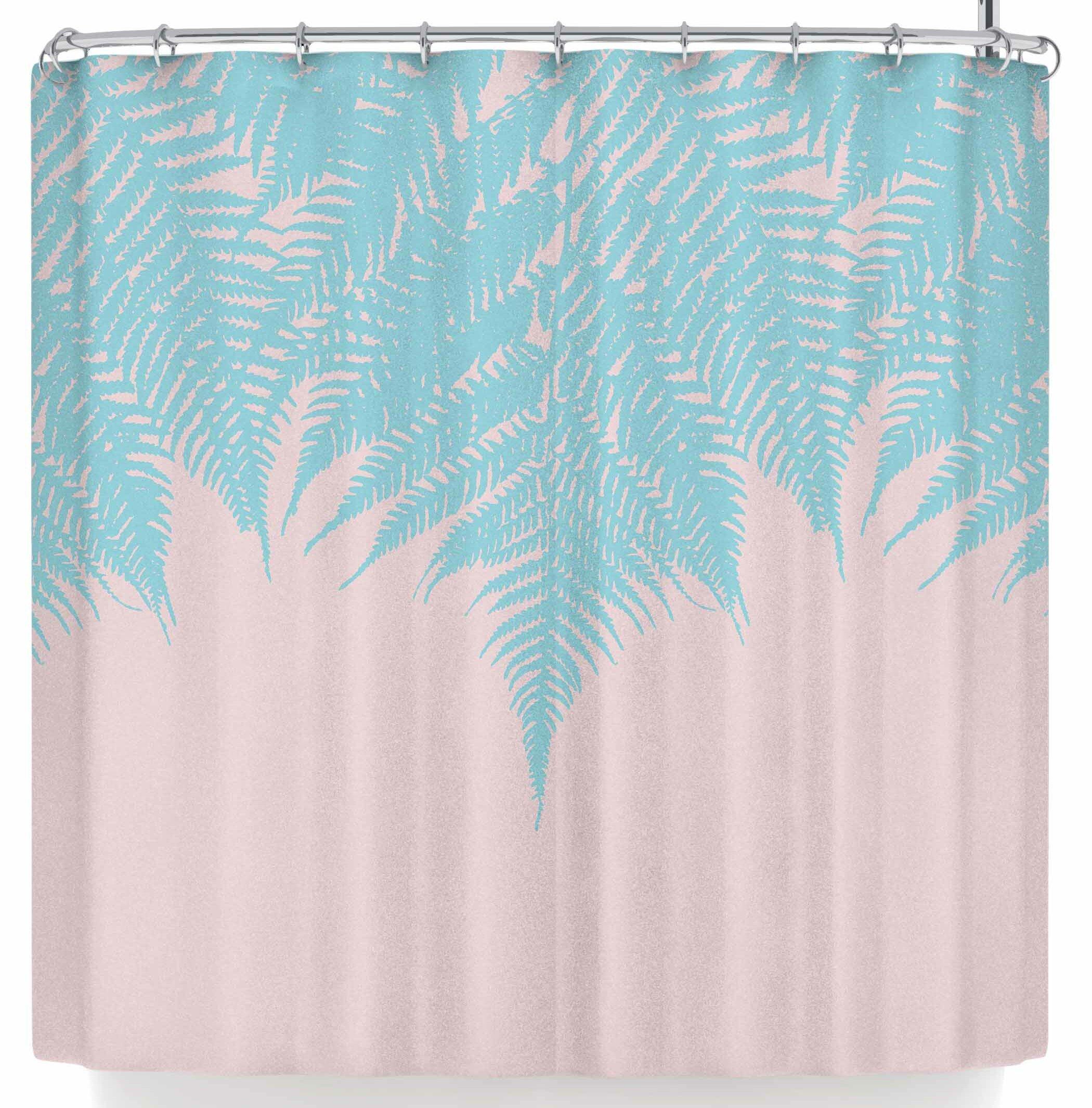 East Urban Home Project M Fern Shower Curtain & Reviews | Wayfair