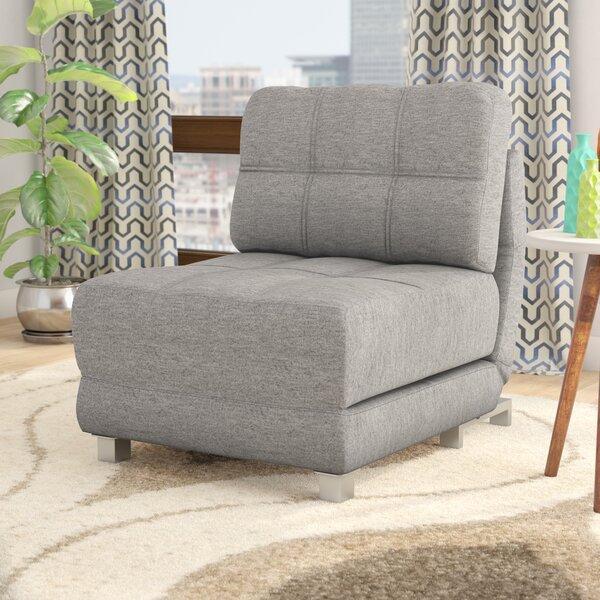 Ebern Designs Hersey 31 5 Wide Polyester Convertible Chair Reviews Wayfair
