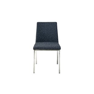 Weston Side Chair in Cashmere - Dark Grey (Set of 2) by Mobital