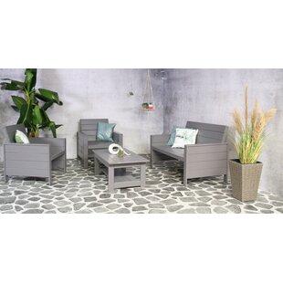 Leday 4 Seater Sofa Set Image