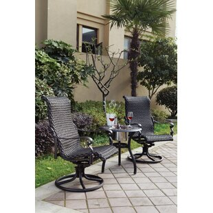 Kentland 3 Piece Bistro Set
