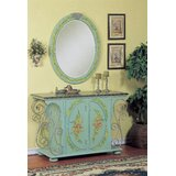 Rosalia Hand-Painted Vanity with Mirror by Astoria Grand