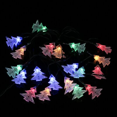 Solar Outdoor Christmas Tree Led 20 Light String Lighting