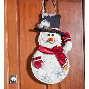 Plush Snowman Door Hanging Wall Decor by Plow & Hearth