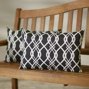 Edgecomb Outdoor Lumbar Pillow (Set of 2)