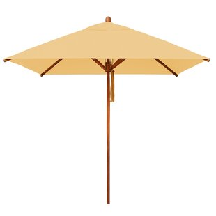 Bambrella Levante 7' Square Market Umbrella