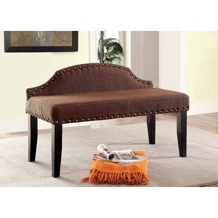 Darby Home Co Fagundes Wood Bench