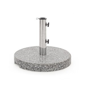 Layla Steel And Stone Free Standing Umbrella Base By Ophelia & Co.