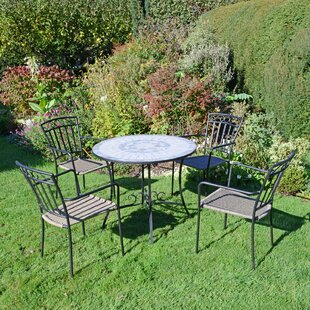 Patio 4 Seater Dining Set By Sol 72 Outdoor