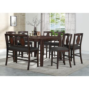 Canady 8 Piece Pub Table Set DarHome Co
