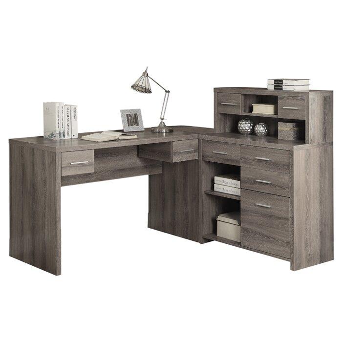 Impressive L Shaped Computer Desk Minimalist