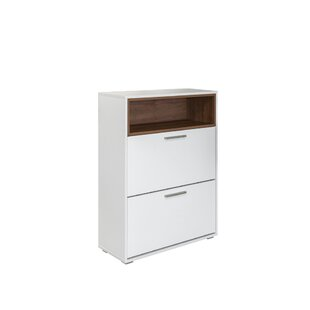 Sherie 12 Pair Shoe Storage Cabinet By Ebern Designs