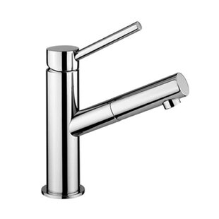 WS Bath Collections Micro Single hole Bathroom Faucet