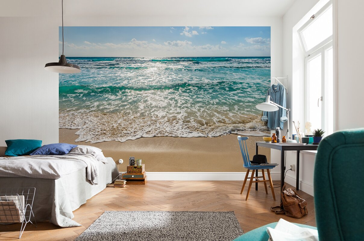 wallpops komar seaside wall mural reviews wayfair default name