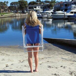 Ashlyn Portable Folding Beach Chair by Freeport Park
