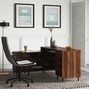 Cybulski L-Shape Executive Desk