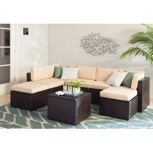 Belton Sectional Seating Group with Cushions by Mercury Row