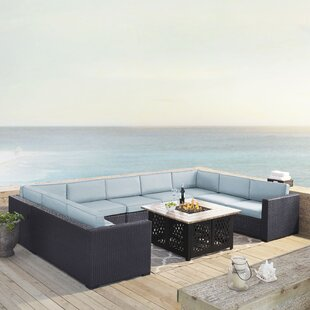 Dinah 6 Piece Sectional Seating Group with Cushions