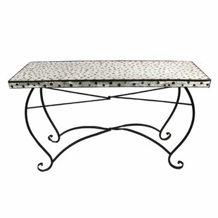 Merkley Well-Designed Rectangular Metal Dining Table