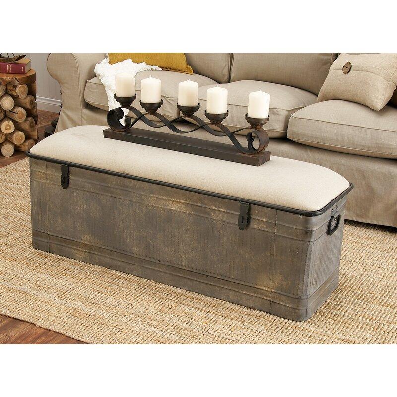Genial Dublin Upholstered Storage Bench