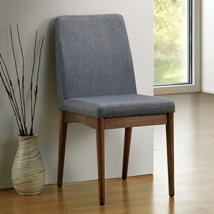 Hutton Mid-Century Dining Chair (Set of 2) Brayden Studio