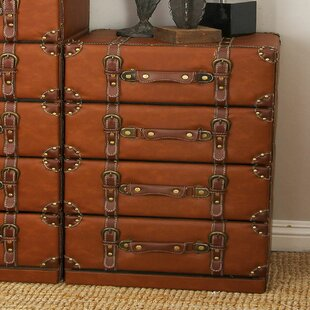 Cole & Grey 4 Drawer Lingerie Chest