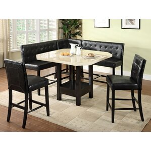 6 Piece Dining Set by Latitude Run