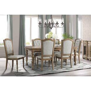 Elena 7 Piece Dining Set Ophelia & Co.