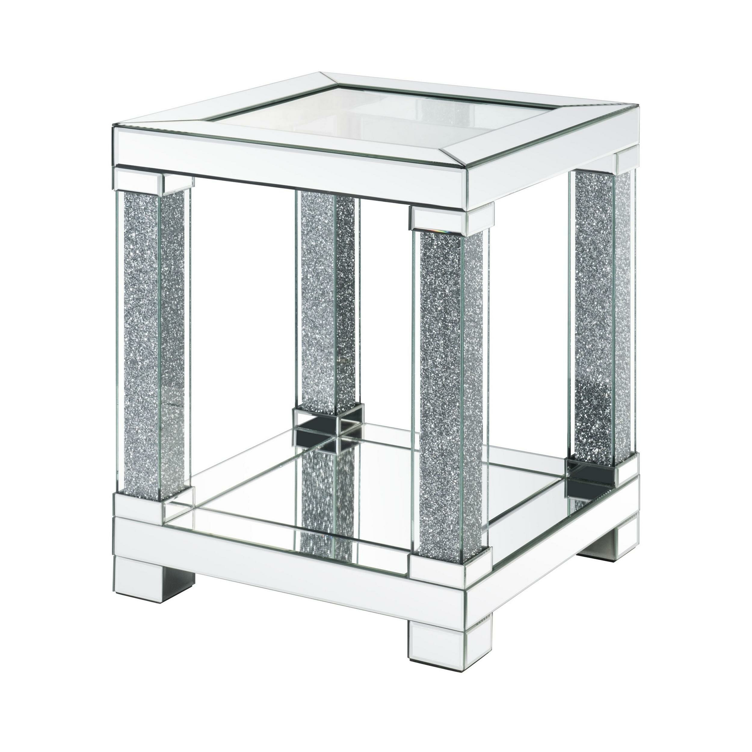 Everly Quinn Jakayla End Table With Storage Wayfair