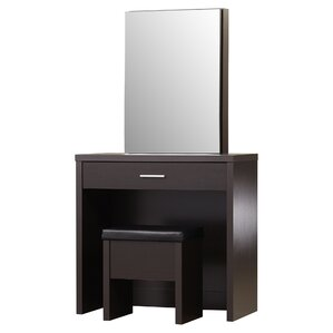 Laporte Vanity Set With Mirror