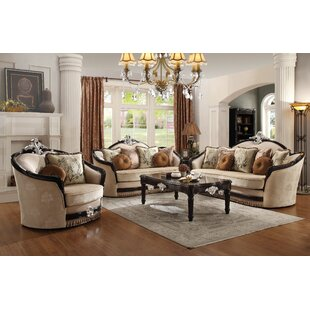 Mcclellan 3 Piece Configurable Living Room Set By Astoria Grand