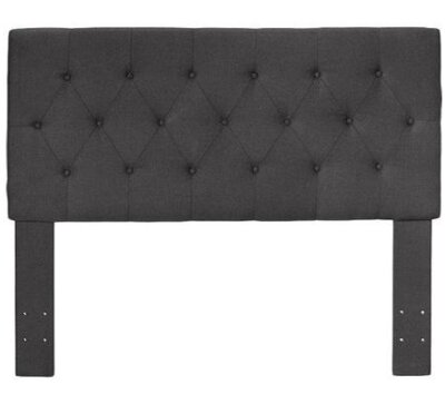 Cassity Upholstered Panel Headboard by Charlton Home