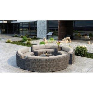 Gilleland 7 Piece Sectional Set with Sunbrella Cushion by Orren Ellis