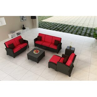 Forever Patio Barbados Sofa with Cushions