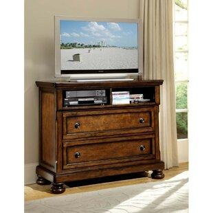 Keighley Wooden 2 Drawer Dresser by Fleur De Lis Living