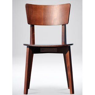 Baril Solid Wood Dining Chair (Set of 2) George Oliver