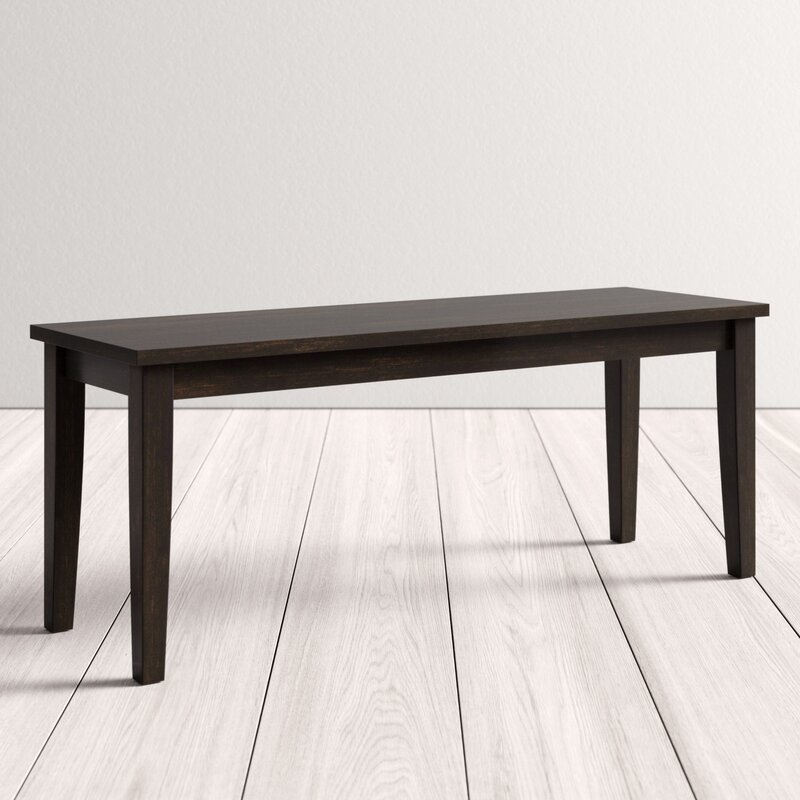 Alabama Wood Bench Reviews Allmodern