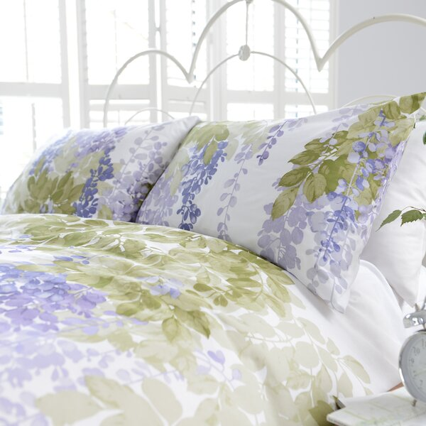 Atlantique Wisteria Duvet Set Amp Reviews Wayfair Co Uk