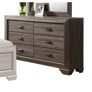 Painesville 6 Drawer Double Dresser