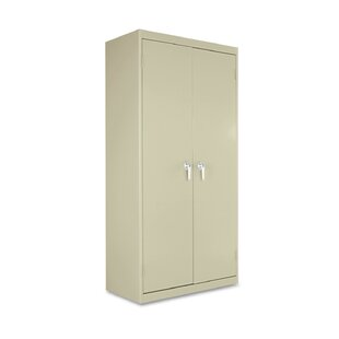 72 Assembled Economy Storage Cabinet in Putty