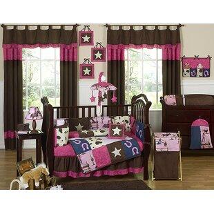 Cowgirl 9 Piece Crib Bedding Set BySweet Jojo Designs