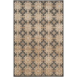 Martha Stewart Soft Anthracite/Anthracite Area Rug