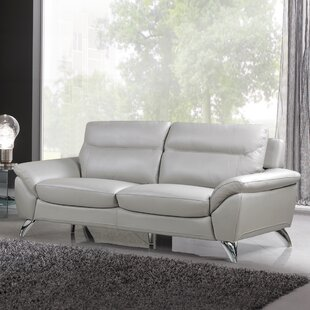 Rickards Leather Sofa (Set Of 2) by Orren Ellis Find