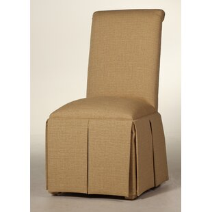 Button Back Upholstered Dining Chair by S..
