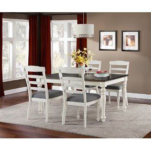 Brookshire Extendable Dining Table Rosecliff Heights