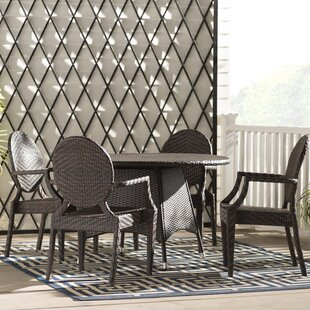 Greger 5 Piece Dining Set