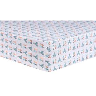 Best Aztec Tepee Fitted Crib Sheet ByTrend Lab