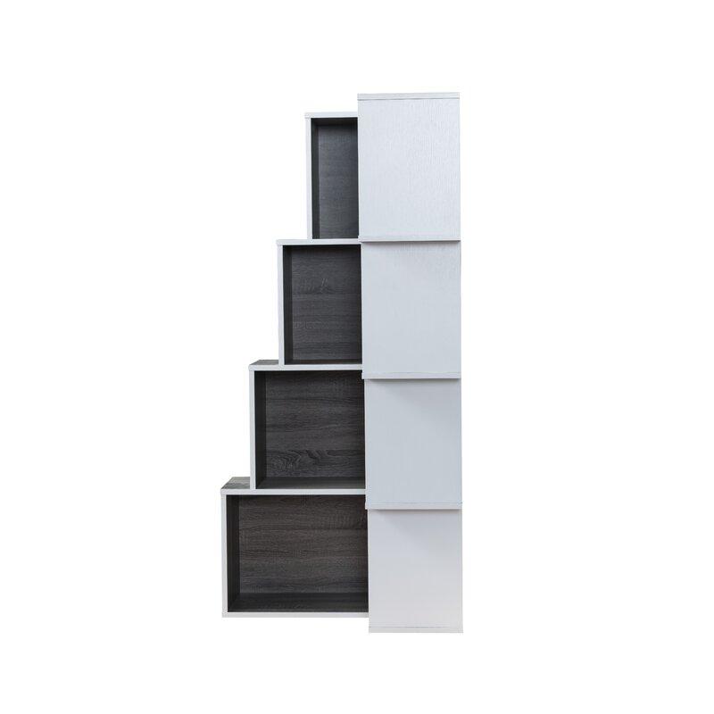 Phenomenal Farragutt Modern Corner Bookcase Interior Design Ideas Gentotryabchikinfo