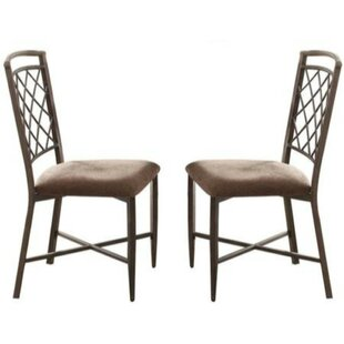 Milner Metal Frame Dining Chair (Set of 2) Fleur De Lis Living